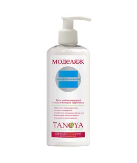 Tanoya Подтягивающий крем с охлаждающим эффектом лимфодренажный 250 мл
