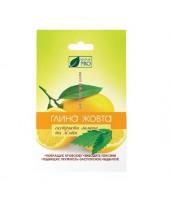 NaturPro Глина желтая с экстрактом лимона и мяты, 50 г