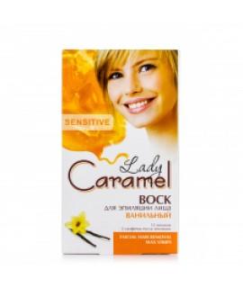 Caramel Віск для епіляції обличчя Ванільний, 12шт