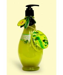 Вкусные секреты Фито-шампунь Укрепляющий при выпадении волос с оливковым и репейным маслом