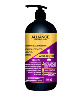 "ALLIANCE PROFESSIONAL Шампунь-восстановление""ARGAN EXPERT 7 в 1"", 1 л"
