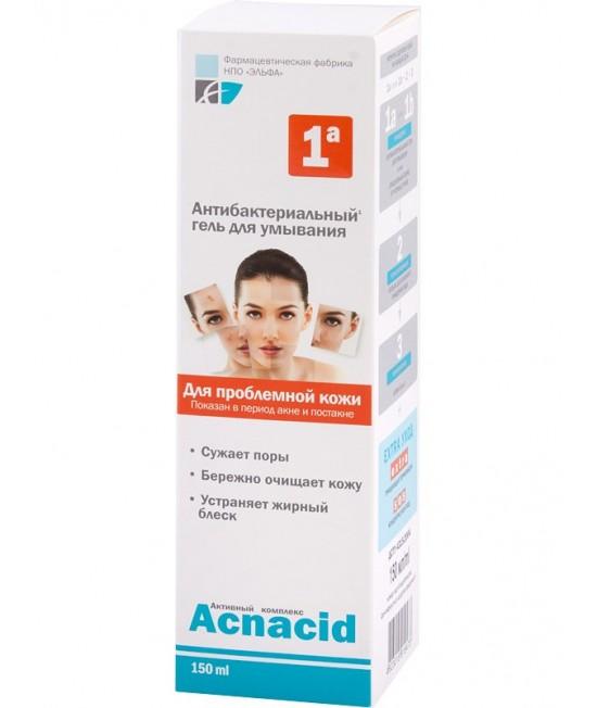 Acnacid Антибактеріальний гель для вмивання, 150 мл