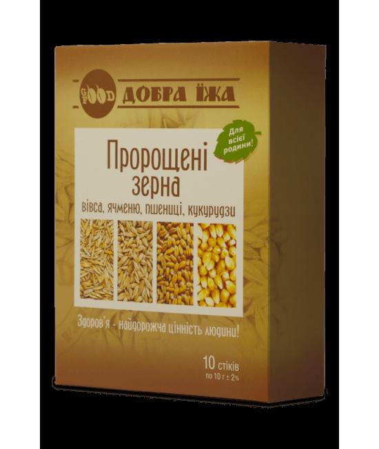 CHOICE Пророщенные зерна, стики 10*10 г