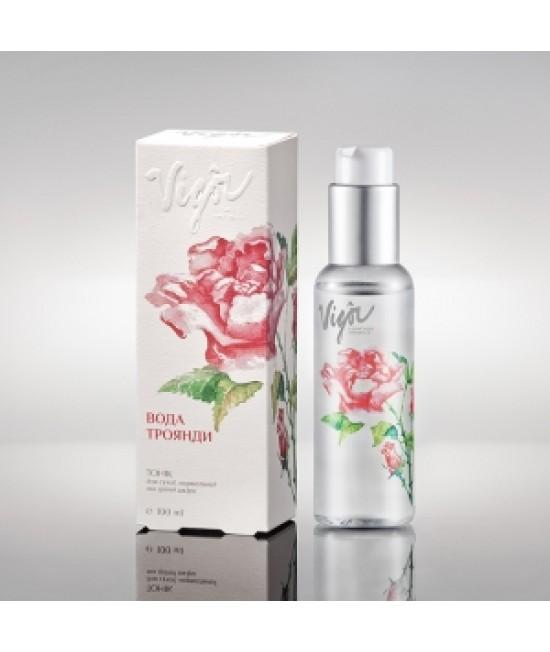 Vigor Тоник увлажняющий «Розовая вода», 100 мл