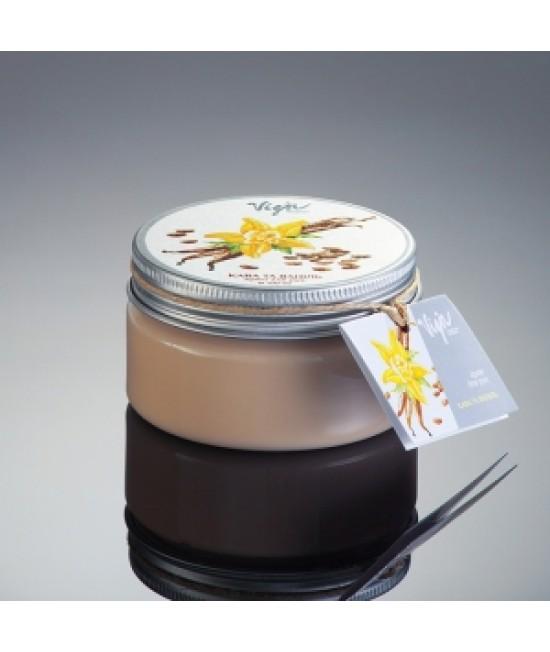 """Vigor Поживний крем для рук і тіла """"Кава та ваніль"""", 50 мл"""