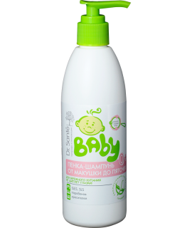 Dr. Sante Baby Пенка-шампунь от макушки до пяточек 300 мл