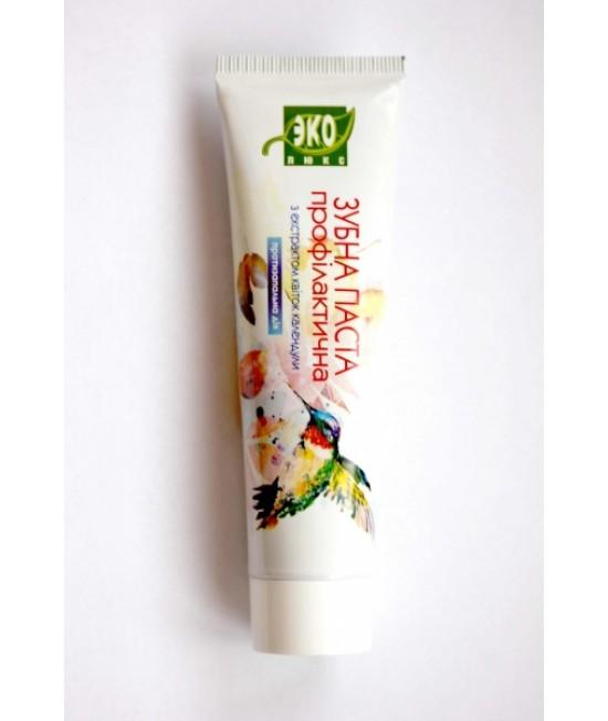Еколюкс Зубна паста профілактична з екстрактом квітів календули 100мл